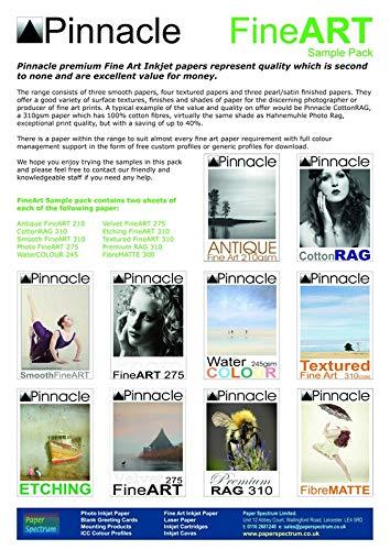 Pinnacle Fine Art Sample Pack A4