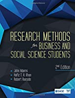 Research Methods for Business and Social Science Students, 2nd Edition Front Cover
