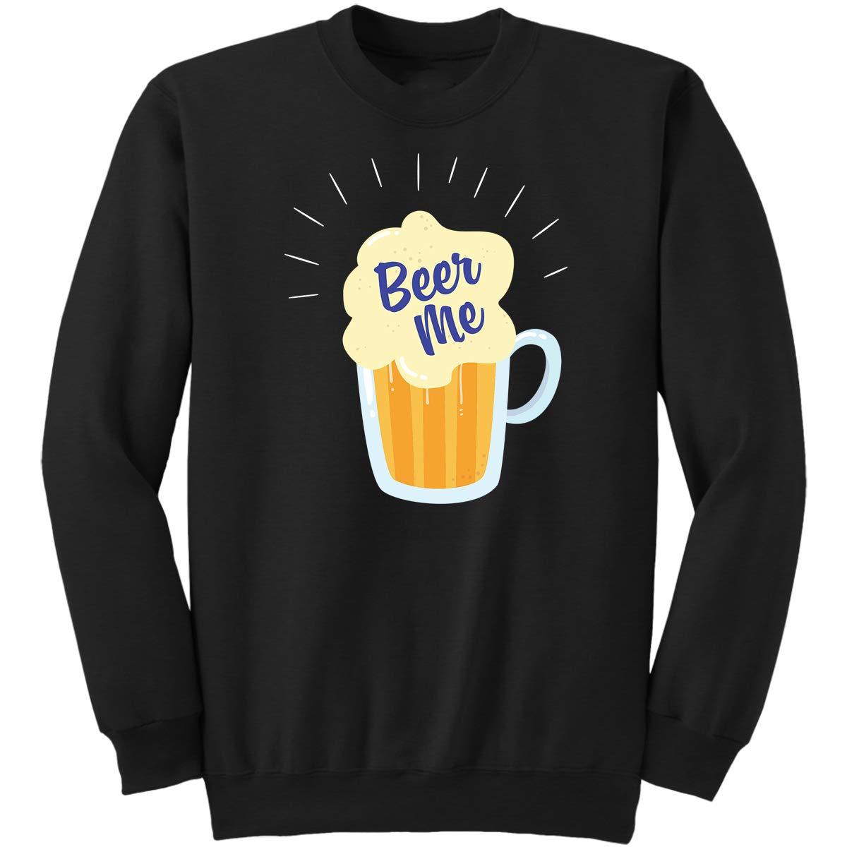 DoozyGifts99 Beer Me-Drinker Mens Women Tasting Nove Sweatshirt
