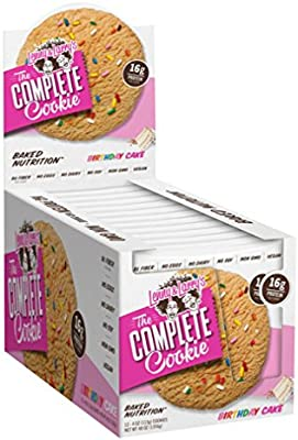Enjoyable Lenny Larrys The Complete Cookie Birthday Cake 12 Count Personalised Birthday Cards Cominlily Jamesorg