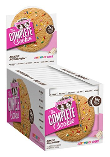 Complete Cookie - BIRTHDAY CAKE 12 cookies Protein