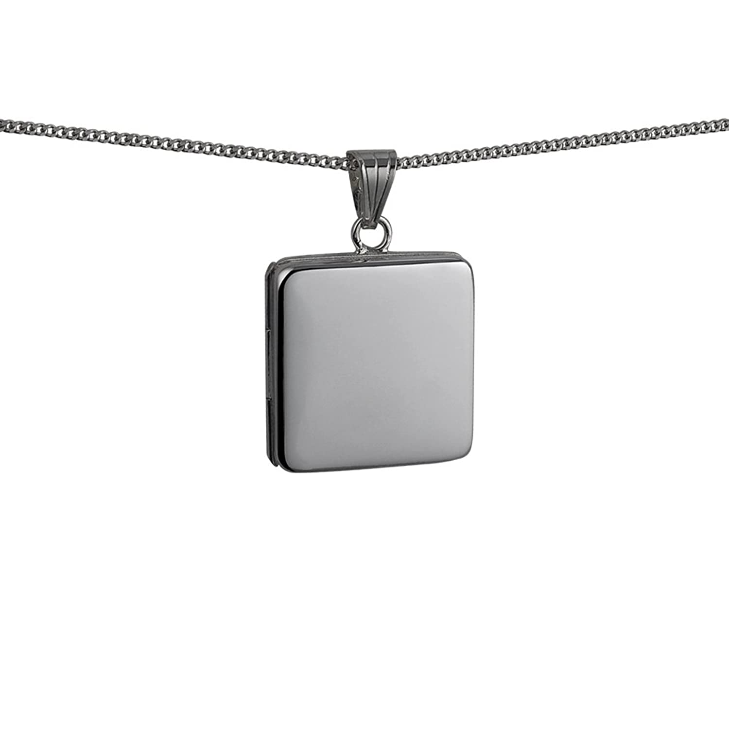small double shipping lockets fullxfull pendant sided shape frame glass square listing il silver
