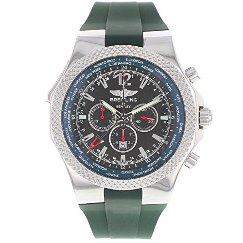 Breitling Bentley GMT British Racing Green Limited Edition Mens Watch A47362S4/B919