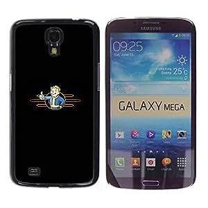 Stuss Case / Funda Carcasa protectora - Minimalist Vault Boy - Samsung Galaxy Mega 6.3