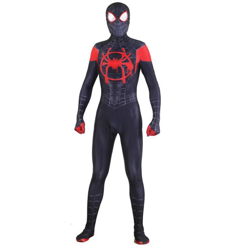 TOYSSKYR Spiderman Cosplay Kostüm Erwachsene Halloween Elastic Bodysuit Körperprojektion Filmrequisiten (Farbe   B, größe   XXXL) B07MV5PK9C Kostüme für Erwachsene Fuxin  | Deutschland Outlet