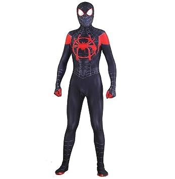 ZYFDFZ Traje de Cosplay de Spiderman Vestido para Adultos ...