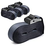 TBWHL Heavy Duty 16-foot-by-1-inch Tie Down Strap Lashing Strap Cargo Tie-Down Strap Padded Cam Lock Buckle-4 Pack