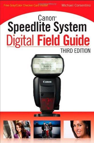 (Canon Speedlite System Digital Field Guide by Michael Corsentino (26-Jul-2012) Paperback)