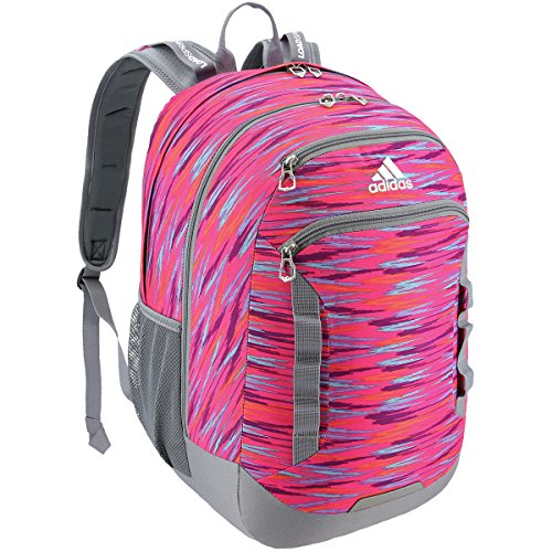 adidas Excel III Backpack, Shock Pink Twister/Black/Shock Pink, One Size by adidas