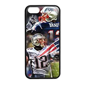 Cool Designed Tom Brady - New England Patriots Cover Case for iPhone 5/5s (Laser Technology)