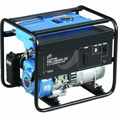 Tsurumi TPG-3000HDX Generator - 2900 Watts