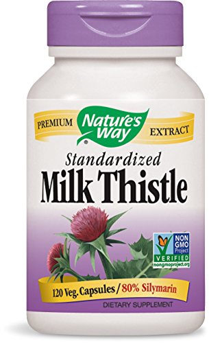 Nature's Way Milk Thistle Standardized, 175 mg, 120 VCaps
