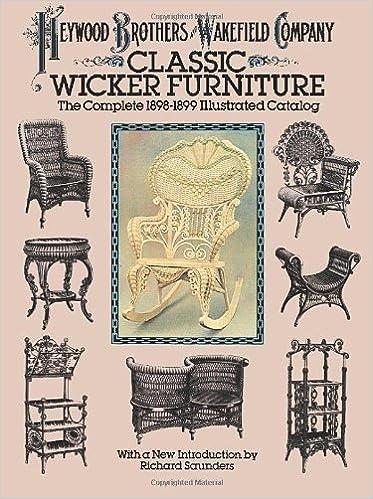 classic wicker furniture heywood brothers amazoncom books