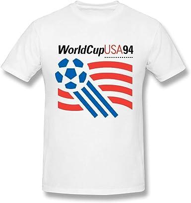 Camiseta Blanca Ultra Soft World Cup 94 USA Design para Hombre: Amazon.es: Ropa y accesorios