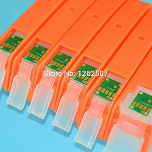 6Pcs 570 571 Refill Ink Cartridge for Can0n Pixma Mg7750 Mg7751 Mg7752 Mg7753 Ts9050 Ts9055 Ts8050 Ts8051 Ts8052 Ts8053 Printers Printer Spare Parts