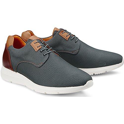 Cox Herren Fashion-Sneaker grau-dunkel