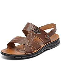 REETENE Men's Summer Sandals Sports Outdoors Beach Shoes for Men