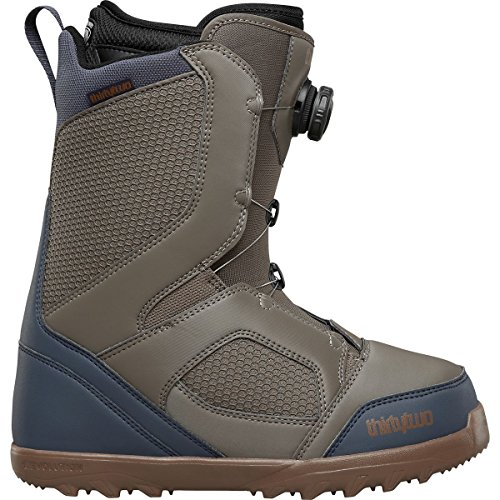 thirtytwo STW Boa Snowboard Boot - Men's Brown, (Brown Mens Snowboard Boots)