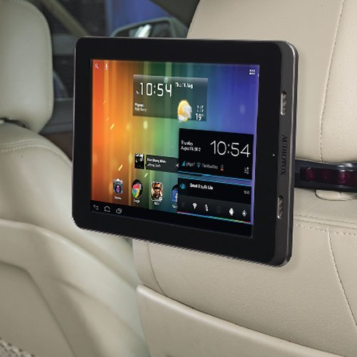"NEW! Audiovox T852SBK 8"" Android Tablet Vehicle Entertainmen"