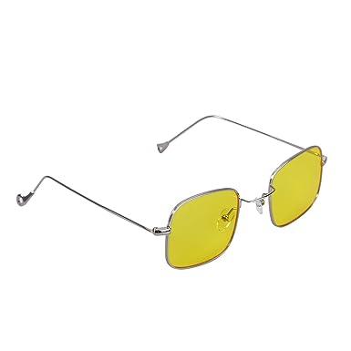 740ee9a14fed OULII Vintage Stylish Sunglasses Small Square Ocean Film Eyeglasses ...