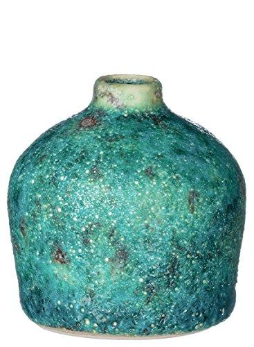 urquoise Ceramic Vase (4