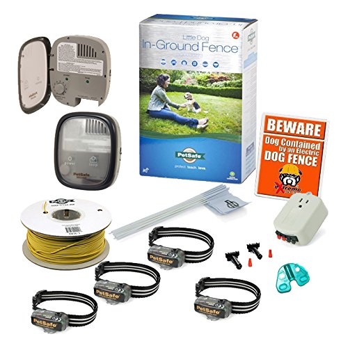 PetSafe Elite Little Dog In-Ground Fence - Factory Grade PIG00-10773 - 4 Dog Hassle by Radio System/Staywell