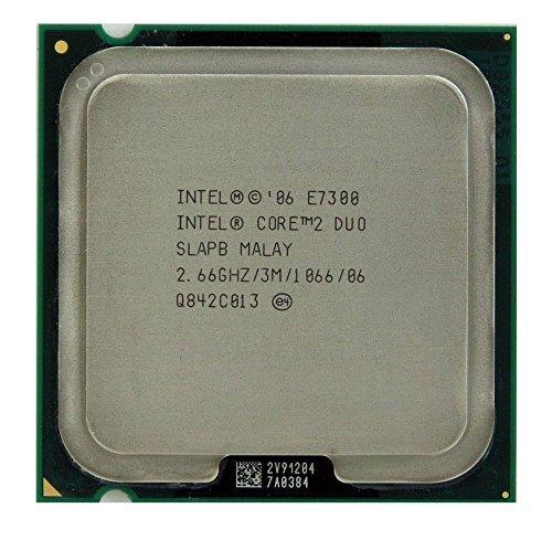 Intel Core 2 Duo E7300 2.66GHz 3MB CPU Processor LGA775 SLAPB SLB9X SLGA9 by Intel