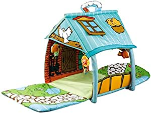 Kid's Play Mat The Big House Puzzle Early Education Baby Climbing Mat Multifunctional Toy Fitness Rack