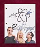 #8: BIG BANG THEORY TV SCRIPT W/ REPRO SIGNATURES GALECKI, PARSONS, CUOCO