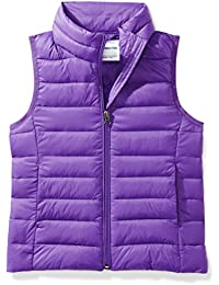 Girls' Lightweight Water-Resistant Packable Puffer Vest