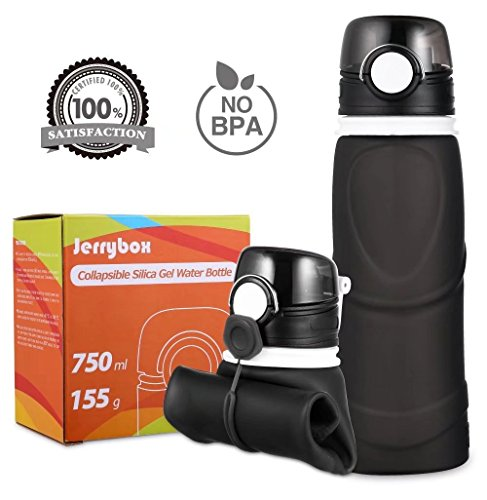 Jerrybox Collapsible Water Bottle Silicone
