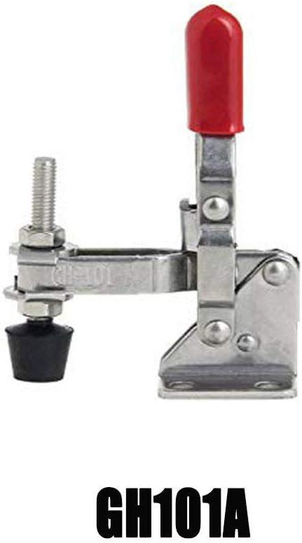 coffre et placard SENRISE Lot de 2 loquets de serrage /à d/égagement rapide pour glaci/ère bo/îte /à bascule argent