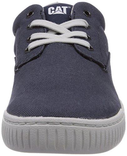 Cat Zimzala Uomo Basse Canvas mens Navy blau Blu Footwear Sneaker xBvxqTp