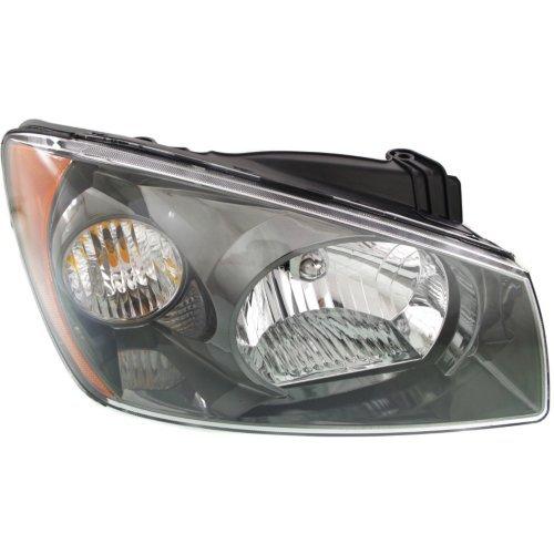 Headlight for KIA SPECTRA 2004-2006 RH Assembly Halogen Hatchback/Sedan