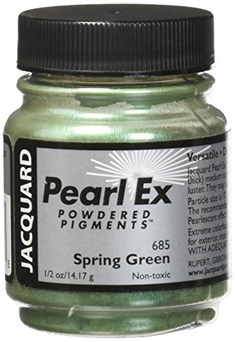 Pearl Ex Powdered Pigment, 0.5 oz, Spring Green (Pigment Green)