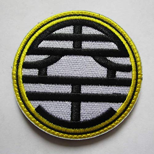 (King Kai Symbol Logo Dragon Ball Z DBZ GT Vegeta Piccolo Military Patch Fabric Embroidered Badges Patch Tactical Stickers for Clothes with Hook &)