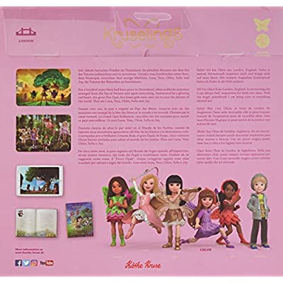 Kruselings Chole Doll Deluxe Set Cute Baby Doll: Toys & Games