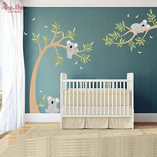 Koala y rama de árbol Koala adhesivo de pared Tatuajes de pared ...