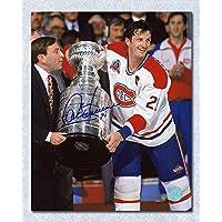 $55 » Guy Carbonneau Montreal Canadiens Autographed 1993 Stanley Cup 8x10 Photo