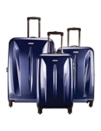 Samsonite Tech Series 3-Piece Hard Side 4-Wheeled Luggage Set - Wine Red