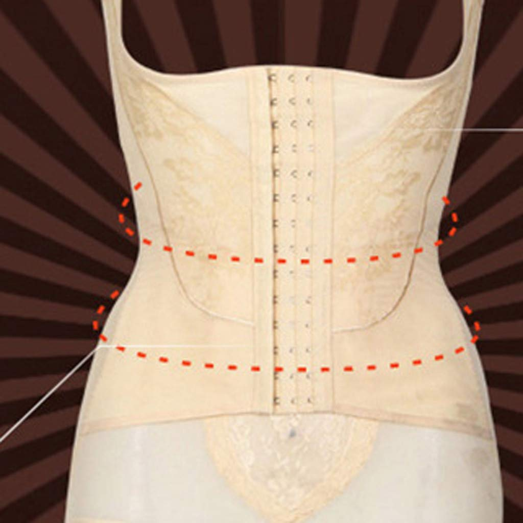 Women and Garment with Abdomen No Traces One-Piece Underwear Body-Shaping Corset