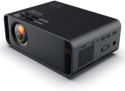 Wendry Mini Projector, 720p 3D HD Proyector LCD portátil HD Negro ...
