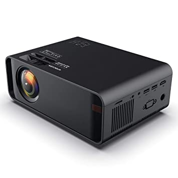 Mini proyector, 480P HD 1500 Lumen LED Bluetooth Proyector ...