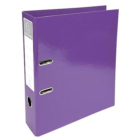 Exacompta 948197 - Archivador 70 mm, color violeta