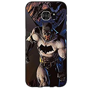 Hipster Cool Batmen Phone Case Cover For Samsung Galaxy s7 Edge Batmen Stylish