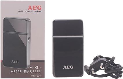 AEG HR 5636 - Afeitadora eléctrica con batería recargable, color ...