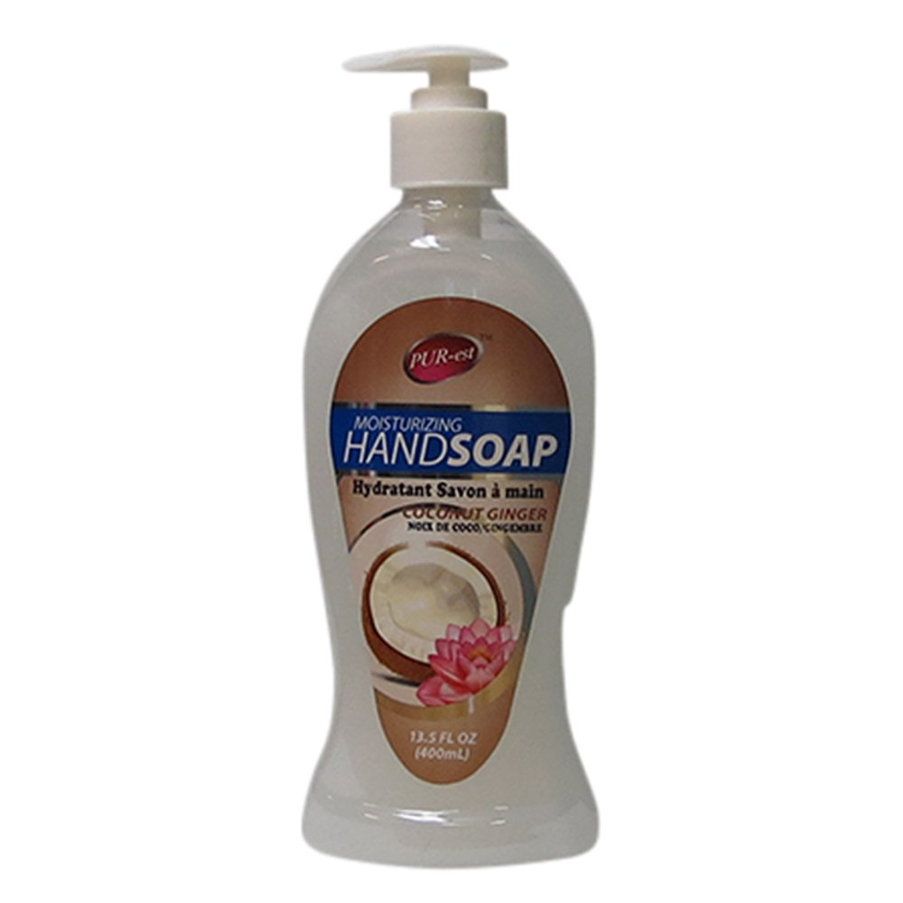 Purest Moisturizing Hand Soap With Coconut Ginger(400ml) 2312574