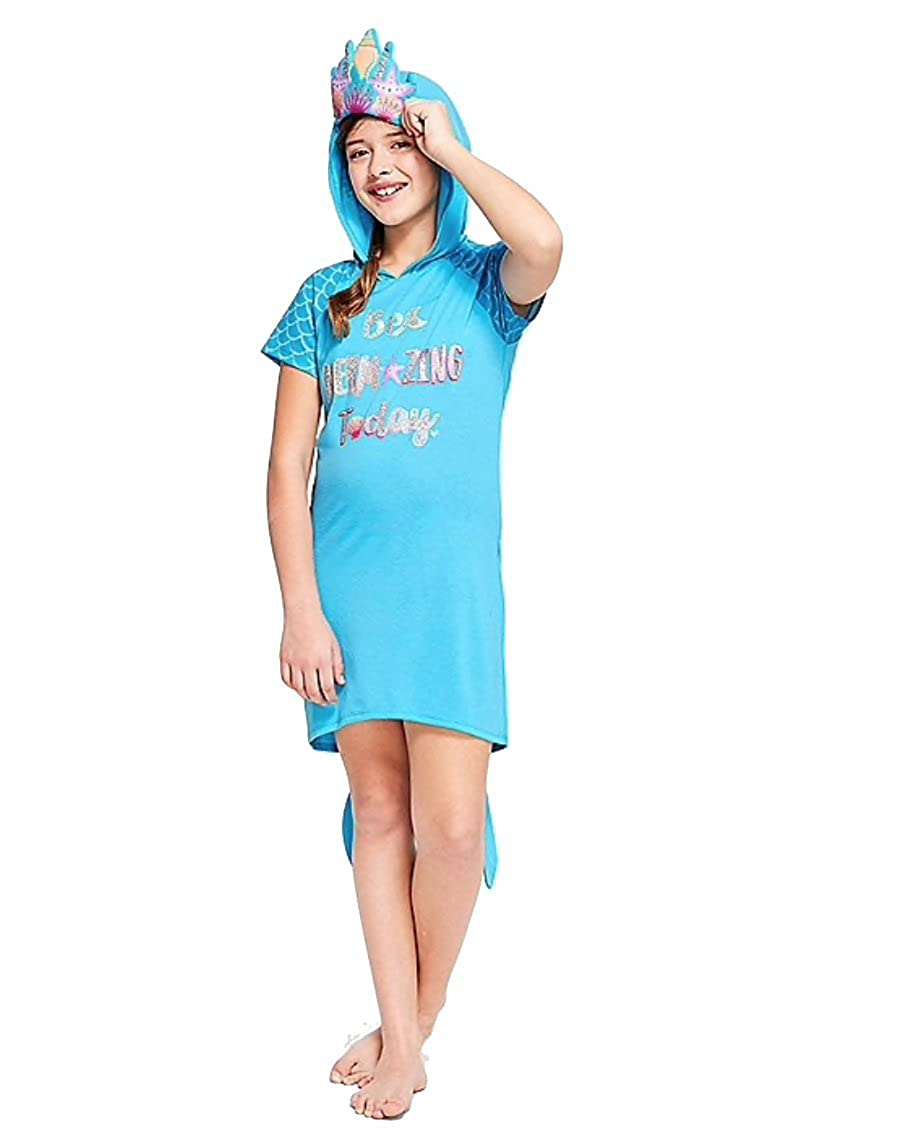 Justice Nightgown Be Mermazing Hooded