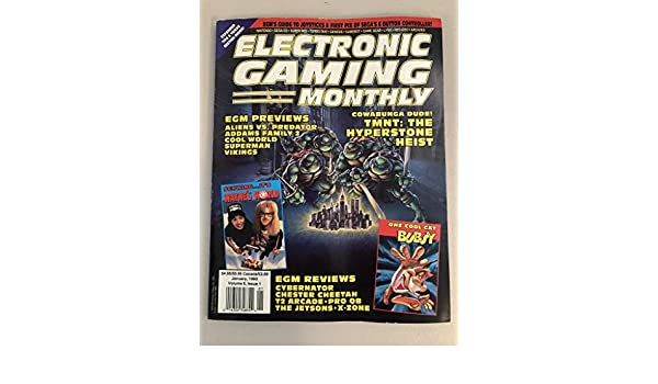 Electronic Gaming Monthly Magazine - January 1993 - Vol. 6 ...
