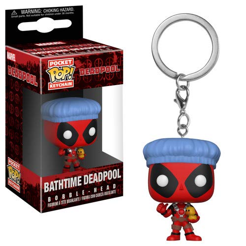 Funko Pop! Keychain: Deadpool Playtime - Deadpool Bath Time, Multicolor
